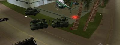 GTA罪恶都市最适合激战地点,天台万夫莫开,最后一个无敌