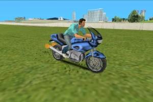 罪恶都市刷摩托车PCJ600